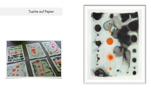 Tusche auf Papier - Isabella Trimmel